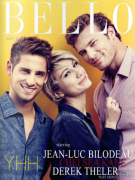 "Bello Magazine September Issue: ""Baby Daddy"" Cast"